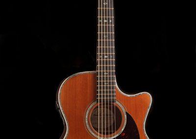 full-length-short-scale-cutaway-custom-acoustic-guitar-mahogany